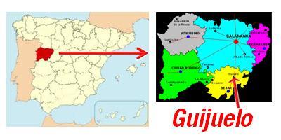 Situación de Guijuelo