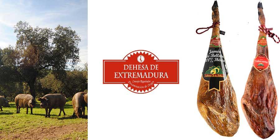 Jamón de Extremadura DOP. Ibérico de bellota