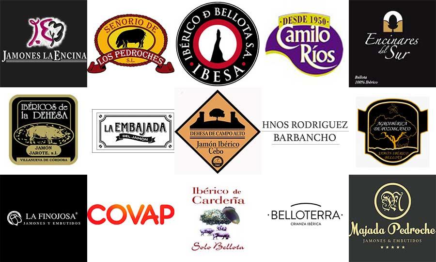 Marcas fabricantes certificados Jamón Pedroches