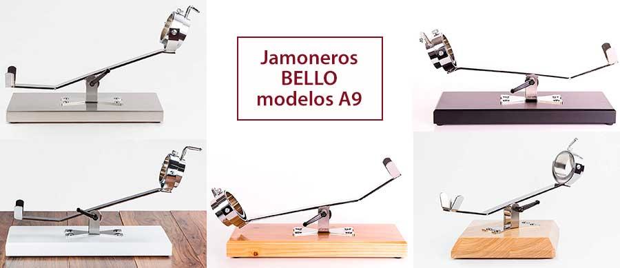 Catálogo de jamoneros Bello