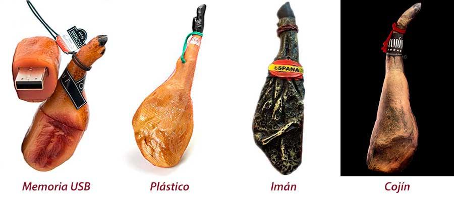Jamones de plástico