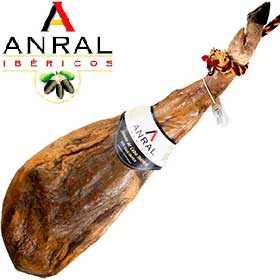 Jamón de cebo ibérico 50% Anral 8,5 Kg