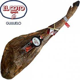 Jamón de bellota pata negra DOP GUIJUELO El Coto Ramos