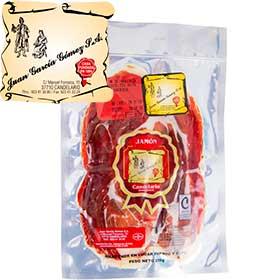 Jamón ibérico de bellota loncheado Candelario 10x100 gr.
